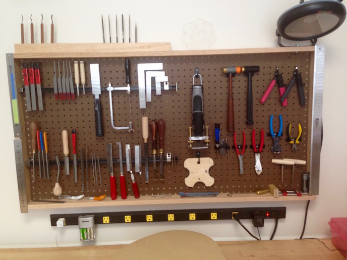 Completed Tool Rack